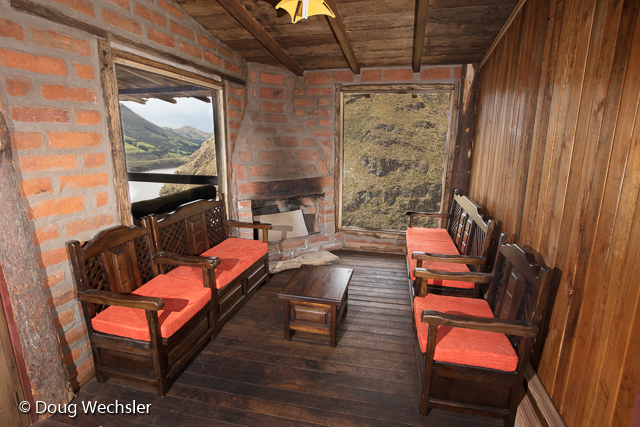 Tambo Condor guest house interior