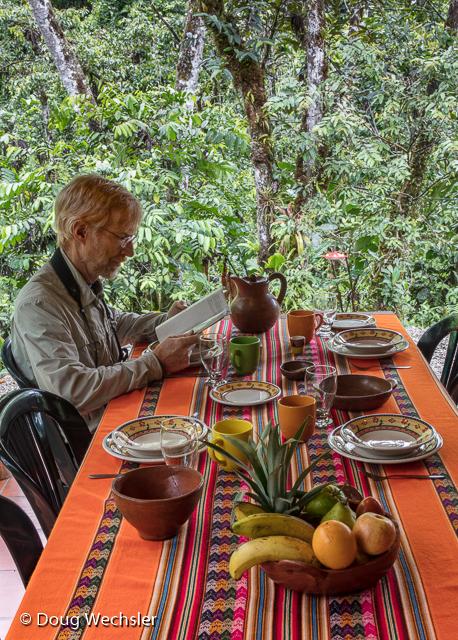 Copalinga outdoor dining